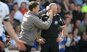 Cardiff City v Swansea City, referee Mike Dean