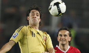 Joan Capdevila in action for Spain