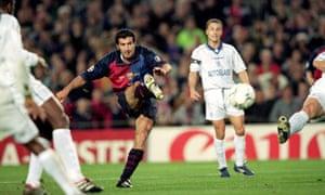 Luis Figo, Barcelona 5-1 Chelsea