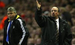 Guus Hiddink and Rafael Benitez