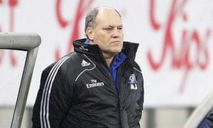 Hamburg coach Martin Jol
