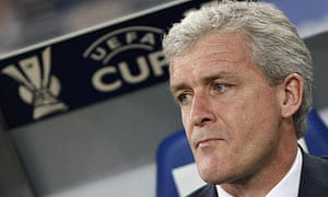 Mark Hughes Manchester City UEFA Cup