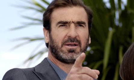Eric Cantona promoting 'Looking for Eric' film