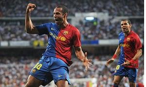 Thierry Henry, Real Madrid v Barcelona - La Liga