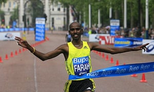 Mo Farah Athletics London 10,000