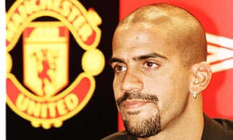 Juan Sebastian Veron Manchester United Champions League