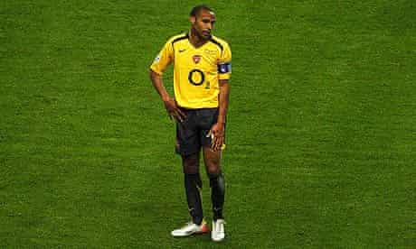 Thierry Henry of Barcelona