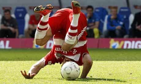 Franck Ribery: head over heels at the news