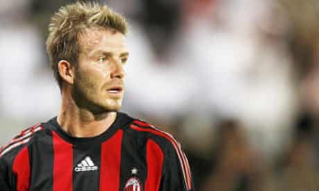 AC Milan's David Beckham says no to Chelsea