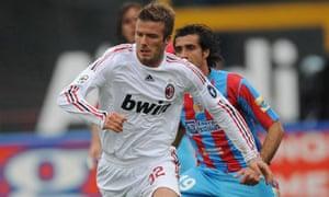 David Beckham Milan LA Galaxy
