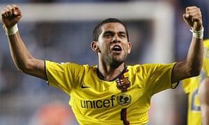 Barcelona Dani Alves Chelsea Champions League