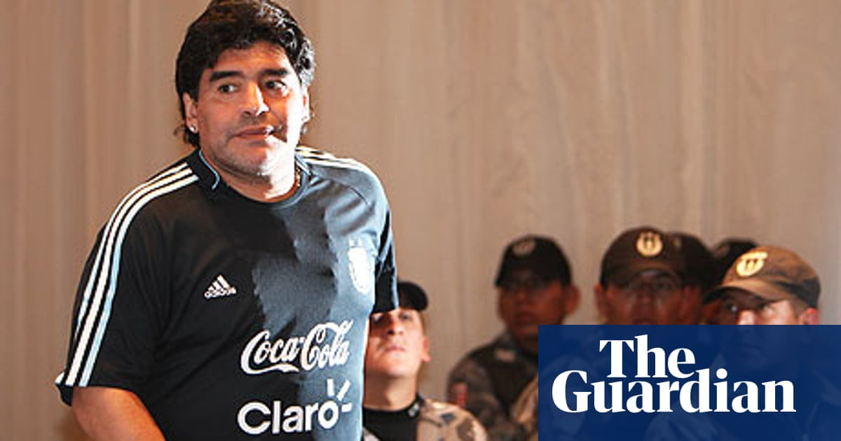 High Anxiety Stalks Maradona S Argentina In Altitude Of Quito Argentina The Guardian