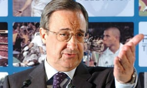 Florentino Perez, the Real Madrid president