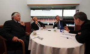 Joe Kinnear, Gordon Strachan and Alan Curbishley