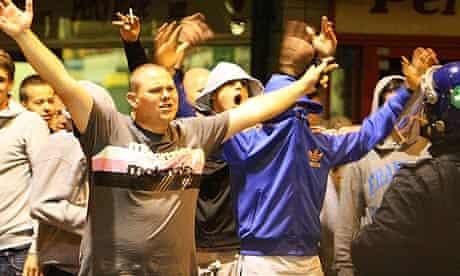 West Ham violent fans