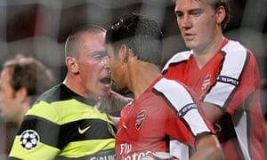 Eduardo is confronted by Scott Brown