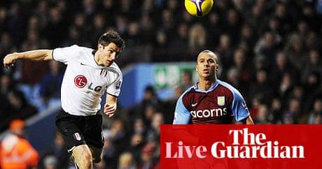 3827033e50f27c Premier League  Aston Villa v Fulham - as it happened