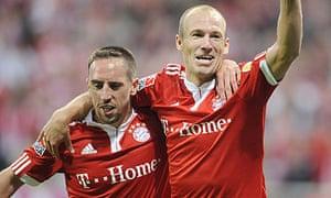 Arjen Robben, Franck Ribery