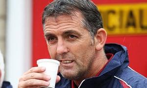 Burnley's manager Owen Coyle