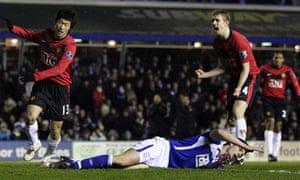 Darren Fletcher and Park
