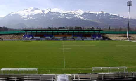 Liechenstein's Rheinpark Stadion