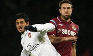 Carlos Vela, of Arsenal