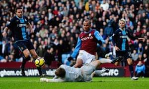 Premier League Aston Villa 0 0 West Ham United Football The Guardian
