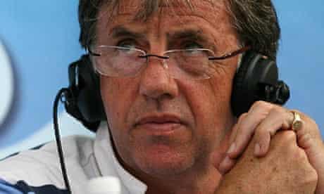 Mark Lawrenson, commentator, right