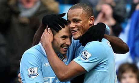 Soccer - Barclays Premier League - Manchester City v Portsmouth - City of Manchester Stadium