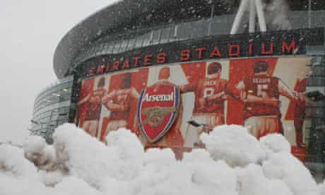 Arsenal v Bolton called off