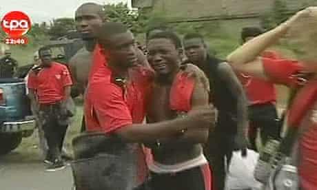 Togo players