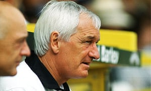 Former Norwich City manager Mike Walker