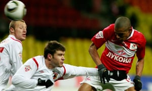 Welliton of Spartak Moscow, right