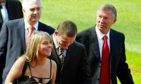 Wayne Rooney and Paul Stretford