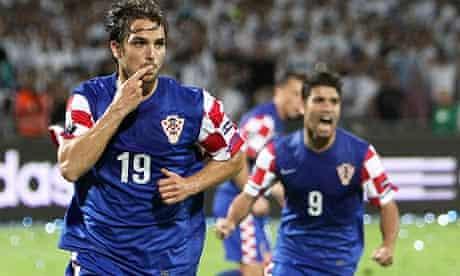 voluntario halcón densidad  Niko Kranjcar's double eases Croatia to victory over Israel   Israel   The  Guardian