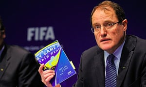 Fifa hits out at accuser after banning six officials for ...