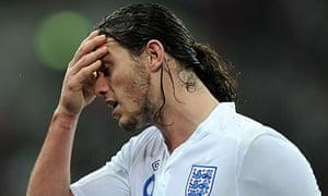 Andy Carroll;, England v France