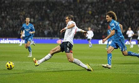 Johan Elmander Bolton Wanderers v Newcastle United Premier League - The Reebok Stadium