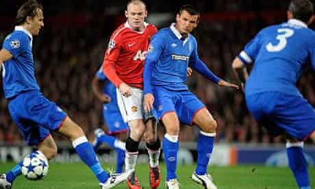 United were crowded out in their first meeting with Rangers at Old Trafford