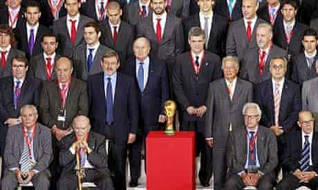Sepp Blatter, Angel Maria Villar