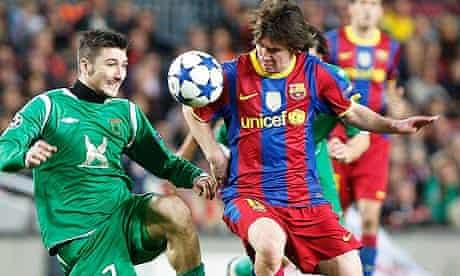 Leo Messi, Barcelona shirt