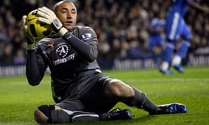 Heurelho Gomes Tottenham Hotspur Chelsea Didier Drogba