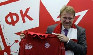 Robert Prosinecki, new Red Star Belgrade manager