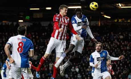 Robert Huth Blackburn Rovers Stoke