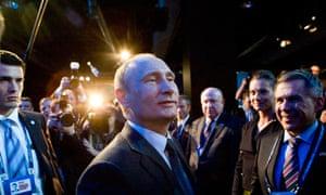 Vladimir Putin, Russia wins 2018 bid