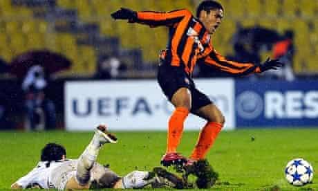 Douglas Costa of FC Shakhtar donetsk