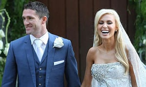 The wedding of Robbie and Claudine Keane