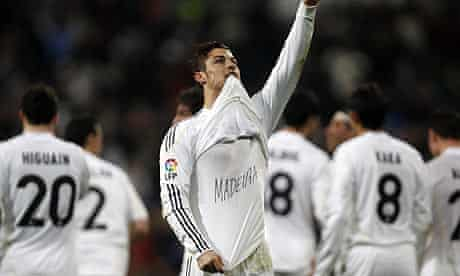 Cristiano Ronaldo was deified in Spain after his starring role in Real Madrid's win over Villarreal
