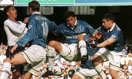 Everton in the mid 1990s