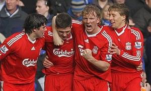 Dirk Kuyt: Liverpool v Everton - Premier League